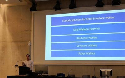 Event on Custody Solutions for Crypto Assets